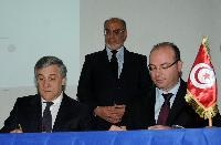 Visit of Antonio Tajani, Vice-President of the EC, to Tunisia