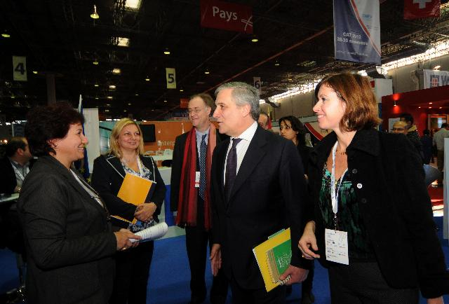 Visit of Antonio Tajani, Vice-President of the EC, to Tunisia