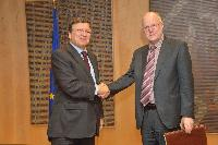 Visit of Staffan Nilsson, President of the European Economic and Social Committee, to the EC
