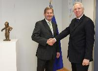 Visit of Rolf Wenzel, Governor of the Council of Europe Development Bank, to the EC