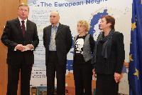Visite à la CE de représentants du Centre biélorusse de défense des Droits de l'homme
