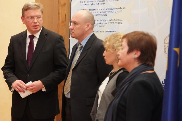 "Visit of the representatives of the Belarusian Human Rights Centre ""Viasna"" to the EC"