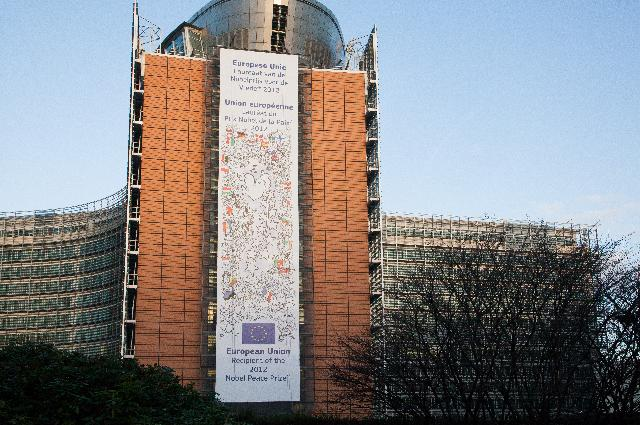 The Berlaymont building with