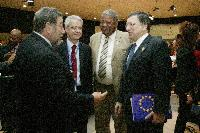 Visit of José Manuel Barroso, President of the EC, to Chile