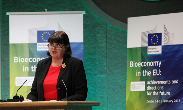 Participation of Máire Geoghegan-Quinn, Member of the EC, at the conference on Bioeconomy organised in Dublin