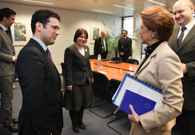 Visit of Remus Pricopie, Romanian Minister for Education, to the EC