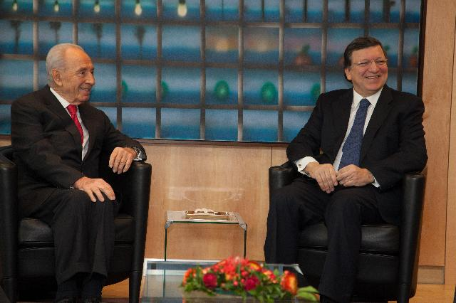 Visit of Shimon Peres, President of Israel, to the EC