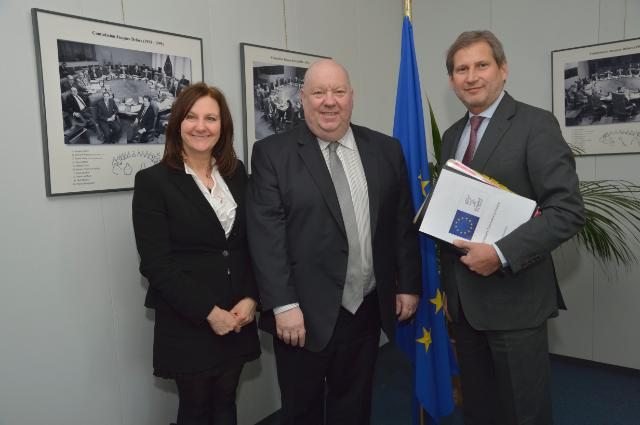 Visit of Joe Anderson, Mayor of Liverpool, to the EC