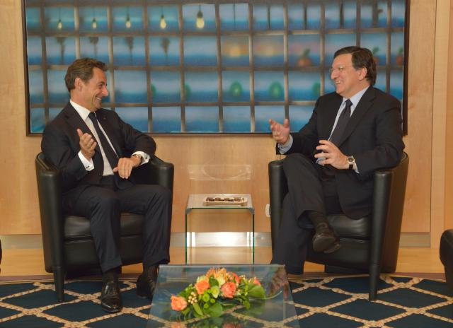 Visit of Nicolas Sarkozy, former President of the French Republic, to the EC