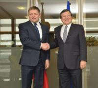 Visite de Robert Fico, Premier ministre slovaque, à la CE