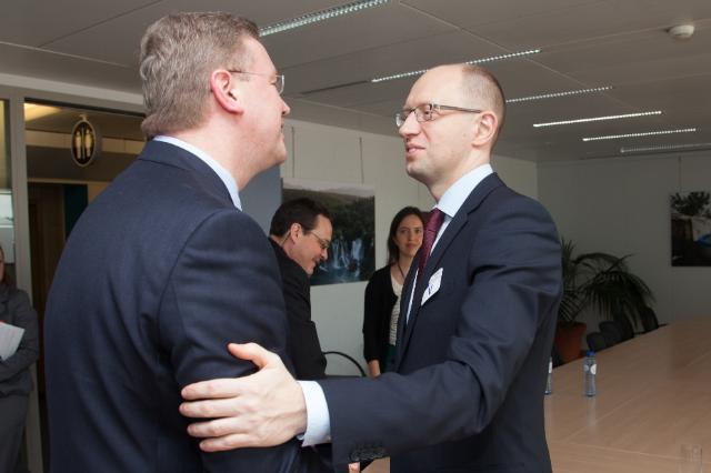 Visit of Arseniy Yatsenyuk, former Speaker of the Ukrainian Parliament and Leader of the
