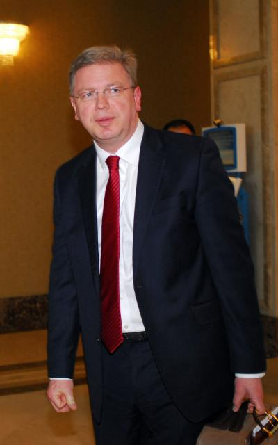 Visit of Štefan Füle, Member of the EC, to Azerbaijan
