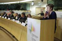 Speech by Kristalina Georgieva, at the podium