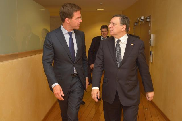 Visit of Mark Rutte, Dutch Prime Minister, to the EC