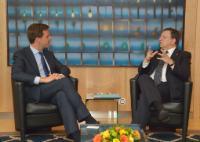 Visite de Mark Rutte, Premier ministre néerlandais, à la CE