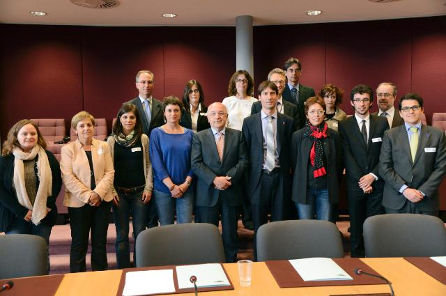 Visit of a delegation of Members of the Catalan Parliament to the EC