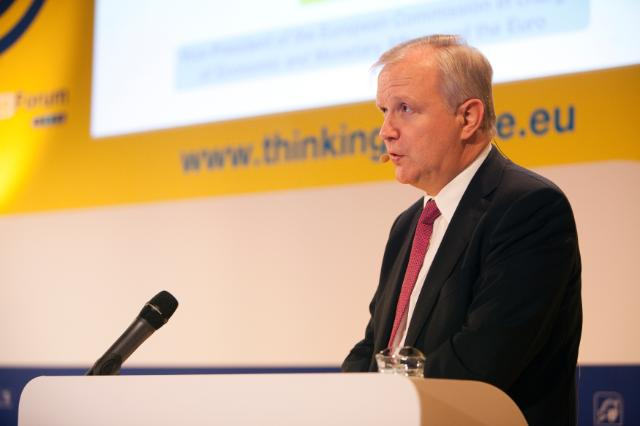 Participation of Olli Rehn, Vice-President of the EC, and Michel Barnier, Member of the EC, in the 4th Annual Economic Ideas Forum