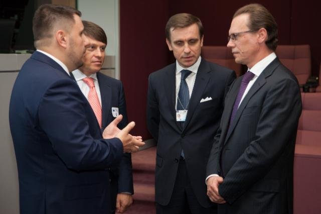 Visit of Oleksandr Klymenko, Ukrainian Minister for Incomes and Fees, to the EC