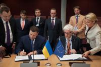 Visite d'Oleksandr Klymenko, ministre ukrainien des Revenus et des Taxes, à la CE
