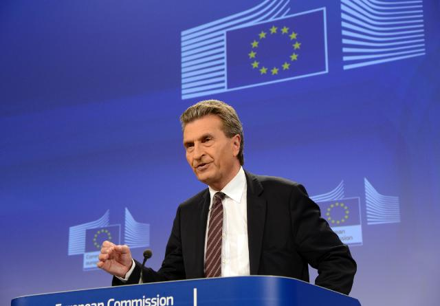 Press conference by Günther Oettinger, Member of the EC, on the adoption of a draft proposal for an amended EU directive on nuclear safety