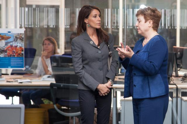 Visit of Marie, Princess of Denmark, to the EC and to the European Emergency Response Centre