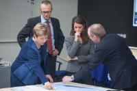 Visite de Marie, princesse du Danemark, à la CE et au Centre de réaction d'urgence européen