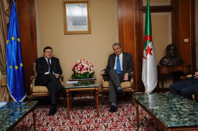 Visit of José Manuel Barroso, President of the EC, to Algeria