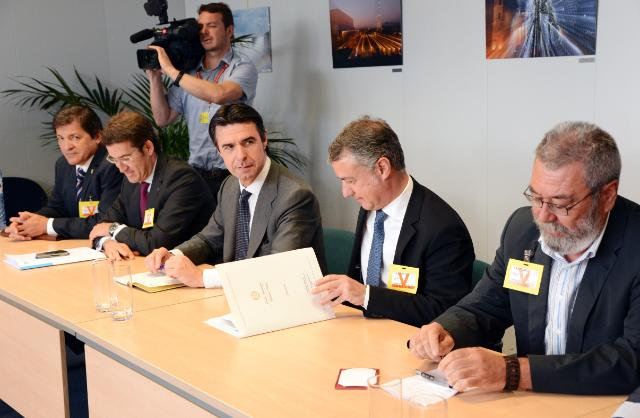 Visit of José Manuel Soria, Spanish Minister for Industry, Energy and Tourism, to the EC
