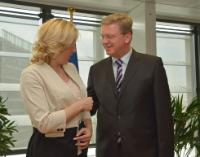 Visit of Željka Cvijanović, Prime Minister of the Republic of Srpska, to the EC
