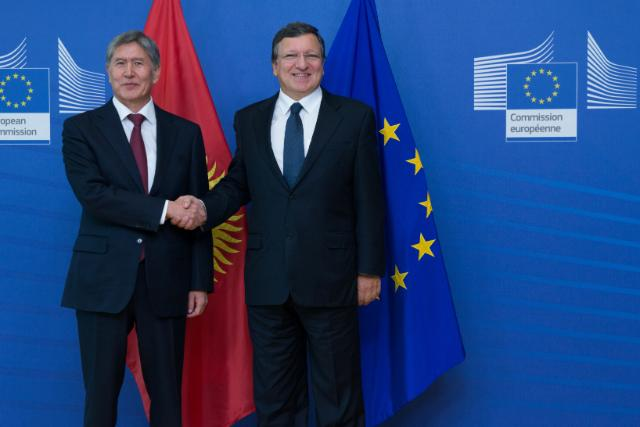 Visit of Almazbek Atambaev, President of Kyrgyzstan, to the EC