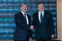 Visit of Almazbek Atambayev, President of Kyrgyzstan, to the EC
