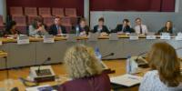 Visite d'une délégation du Department of the Taoiseach à la CE