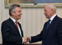 Visit of Karel De Gucht, Member of the EC, to Ukraine