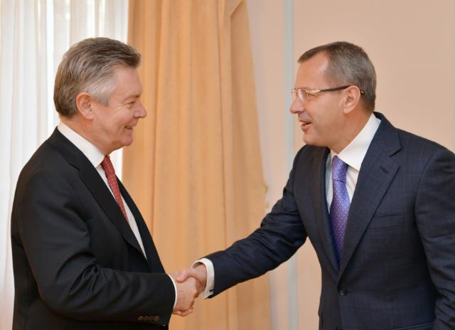 Visit of Karel De Gucht, Member of the EC, to Ukraine