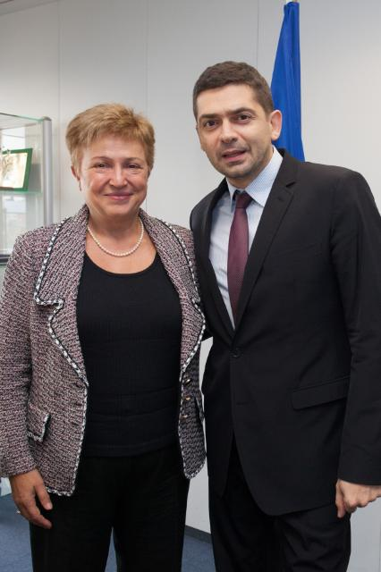 Visit of Milen Vrabevski, Chairman of the Bulgarian Memory Foundation and Bulgarian winner of the European Citizen's Prize 2013 of the EP, to the EC