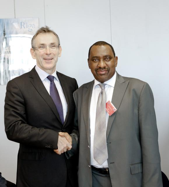 Visit of Bashir Yuguda, Nigerian Supervising Minister for National Planning, to the EC