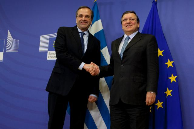 Visit of a delegation from the Greek government to the EC