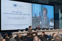 Participation of Neelie Kroes, Vice-President of the EC, in the Information Days on the launch of eight contractual Public Private Partnerships in the field of Research