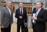 Meeting between Werner Hoyer, President of the EIB, Wilhelm Molterer, Vice-President of the EIB, and Janusz Lewandowski, Member of the EC
