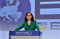 Joint press conference by Cecilia Malmström, Member of the EC, and Troels Oerting, Head of the EC3, on the occasion of the first anniversary of the launch of the European Cybercrime Centre (EC3)