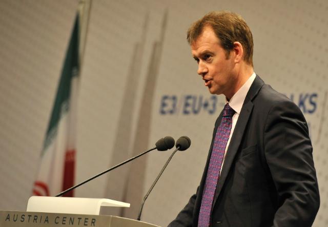 Participation de Catherine Ashton, vice-présidente de la CE, aux discussions E3/UE+3 sur le nucléraire à Vienne