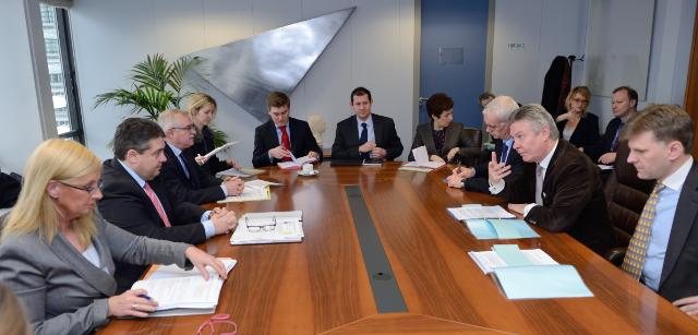Visit of Sigmar Gabriel, German Federal Vice-Chancellor and Minister for Economic Affairs and Energy, to the EC