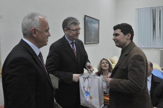 Visit of László Andor, Member of the EC, to Greece