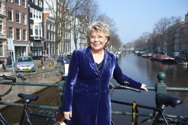 Citizens' Dialogue in Amsterdam with Viviane Reding