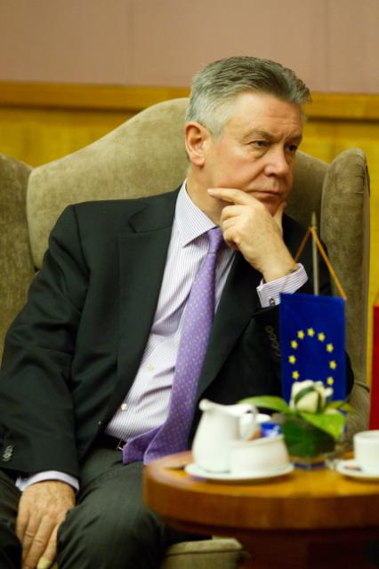 Visite of Karel De Gucht, Member of the EC, to Vietnam