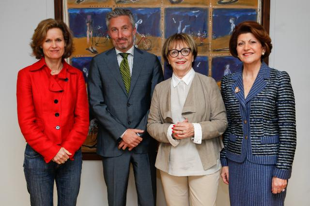Visit of a delegation from the Committee on Culture and Education of the EP, to the EC