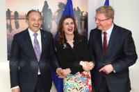 Visit of Vlora Çitaku, Kosovan Minister for European Integration, and Enver Hoxhaj, Kosovan Minister for Foreign Affairs, to the EC