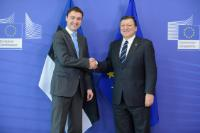 Visit of Taavi Rõivas, Estonian Prime Minister, to the EC