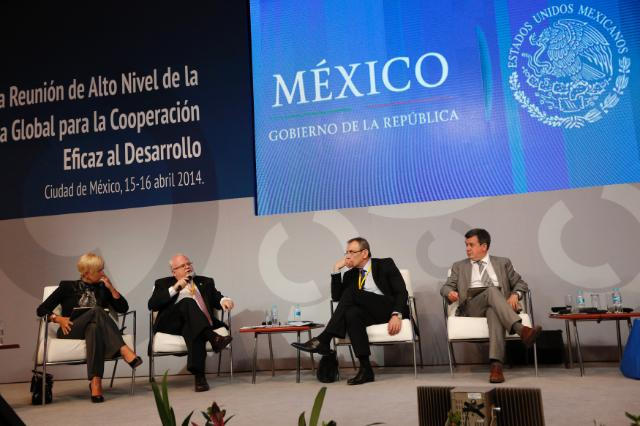 Participation of Andris Piebalgs, Member of the EC, at the High-Level Meeting of the Global Partnership for Effective Development Cooperation, Mexico, 14-15/04/2014
