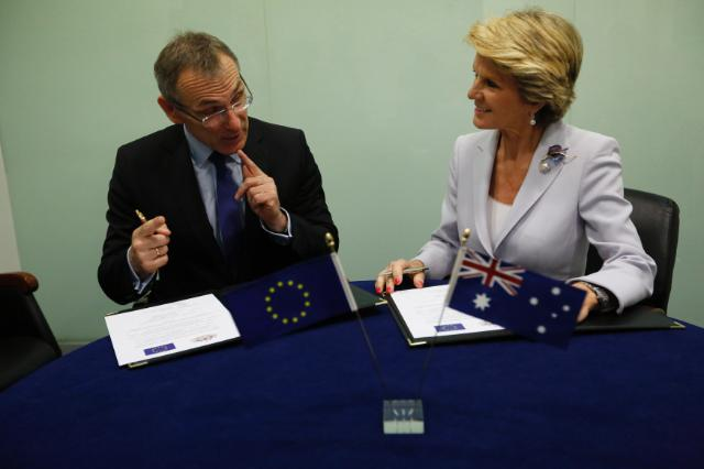 The EU and Australia step up cooperation on Development assistance